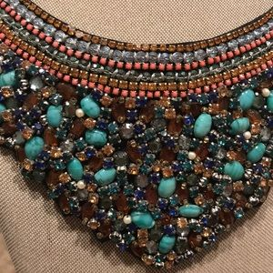 Francesca's Collections Jewelry - Jeweled Bib Necklace